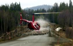 Helikopter rendrivning