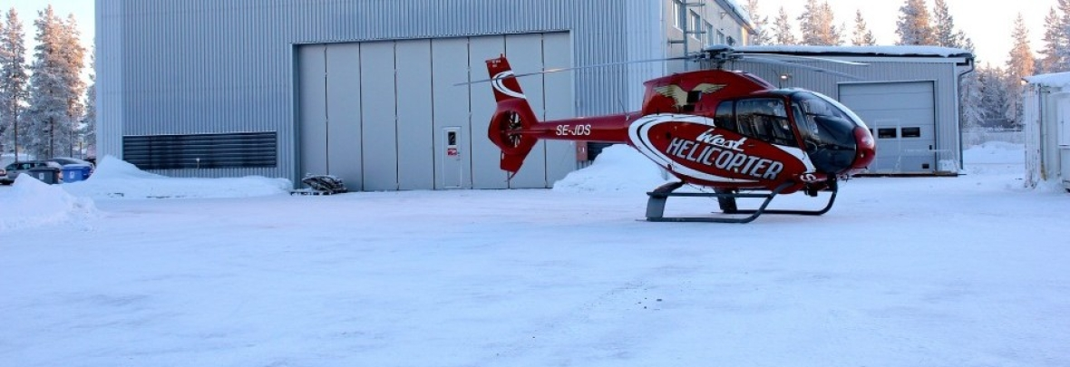 Spännande sightseeingtur i helikopter!